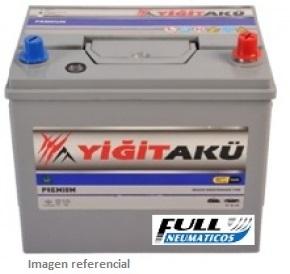 Batería Yigitakü NS60L  NX100-S6L  55B24L Borne Delgado